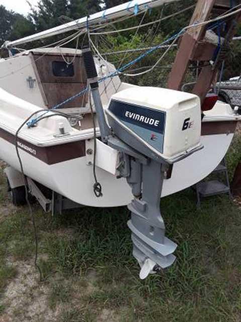 Vagabond 17, 1985 sailboat