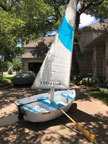 2015 Walker Bay 8' dinghy sailboat