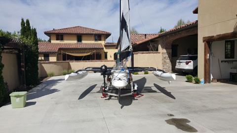 Wind Rider WR17 Trimaran, 2014 sailboat
