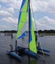 2000 Windrider 17 sailboat