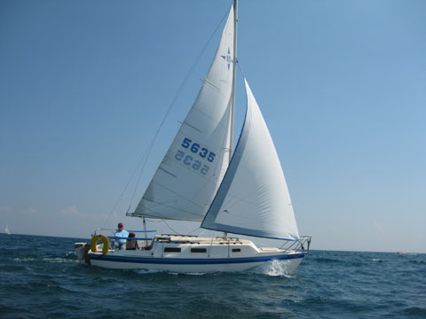 Windrose 25, 1979 sailboat