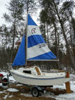 1993 West Wight Potter 15 sailboat