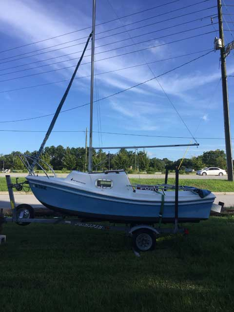 West Wight Potter 15', 2004 sailboat