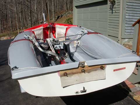Vanguard International 470 sailboat