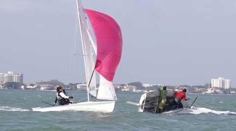 International 470 sailboat