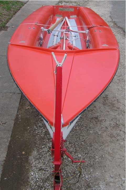 470 sailboat