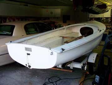 1969 Albacore 15 sailboat