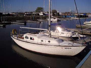 1967 Alberg 30 sailboat