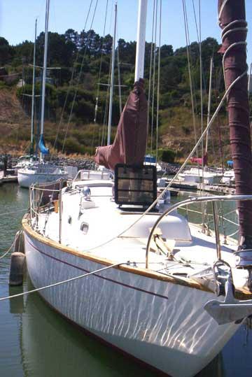 1961 Alberg 35 sailboat