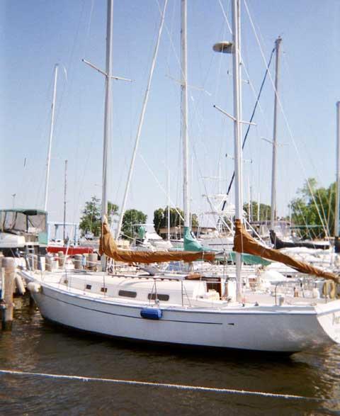 Allied Princess Ketch 36 sailboat