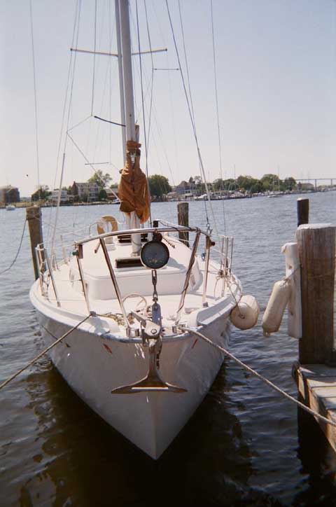 Allied Princess Ketch 36 Yacht Sailboat For Sale