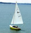 1977 American 16 sailboat