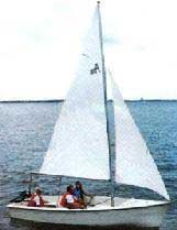 2001 American 18 Daysailer sailboat