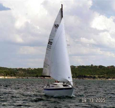 American 23 Sailboat For Sale