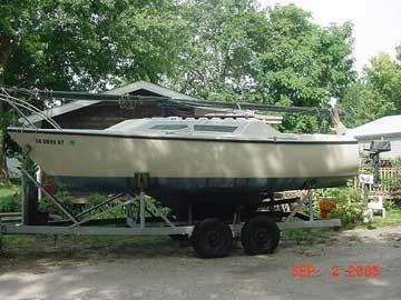 1976 North American 23 sailboat