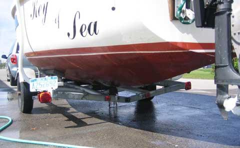 AMF 2100 sailboat