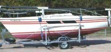 1981 AMF 2100 sailboat