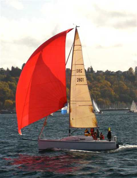 Andrews 28 sailboat