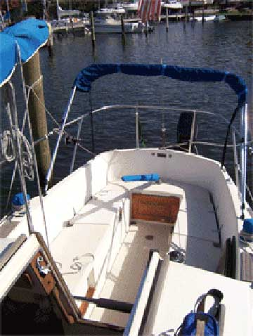 1973 Annapolis 26 sailboat