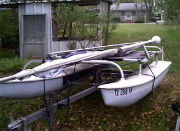 1972 Aquacat catamaran sailboat