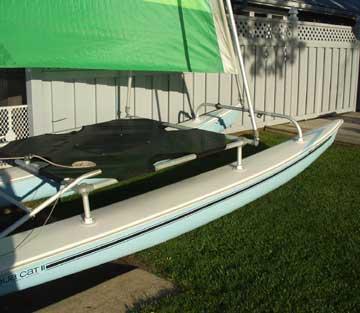 1982 Aquacat sailboat