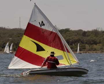 2005 AquaFinn sailboat