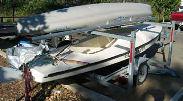 2003 AquaFinn sailboat