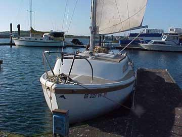 1971 Aquarius 21 sailboat