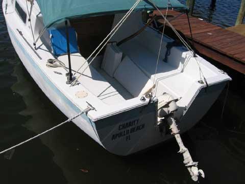 Aquarius 23 sailboat