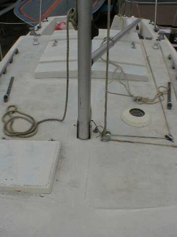 1973 Aquarius 23 sailboat