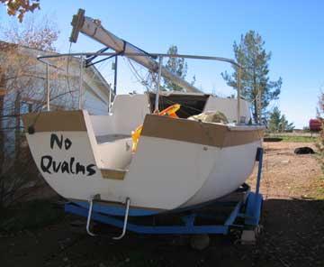 1970 Aquarius 23 sailboat