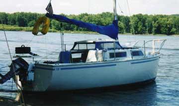 1972 Aquarius 23 sailboat
