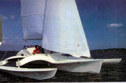 Argonauta 26 sailboat