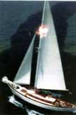 1985 Atkin 40 cutter sailboat