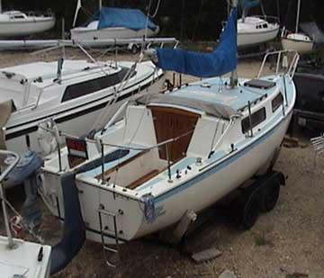 1980 Balboa 23 sailboat