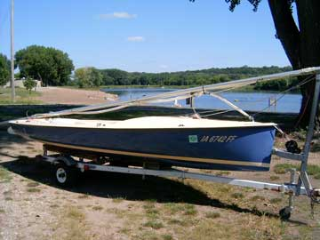 1977 Bandit 15 sailboat