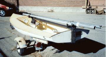 1973 Banshee 13 sailboat