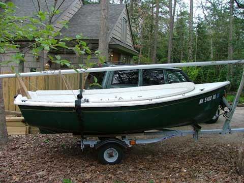 Bauer 12 sailboat