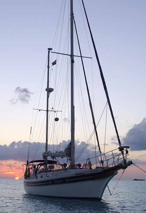 Bayfield 40 Yacht For Sale Sailboat