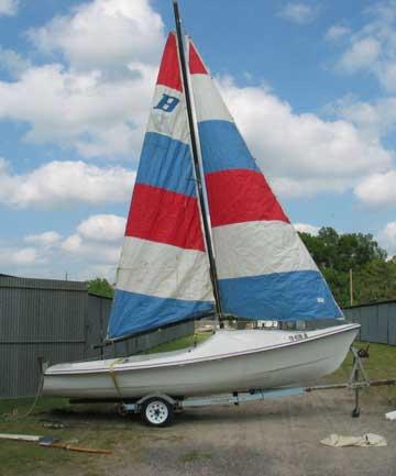 1979 Bayliner Buccaneer 18 sailboat