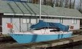 1975 Bayliner Buccaneer sailboat, port side
