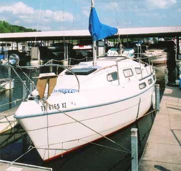 1974 Bayliner Buccaneer 24 sailboat