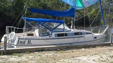 1978 Bayliner Buccaneer 27 sailboat
