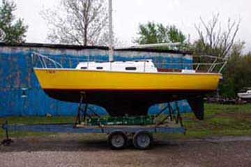 1974 Bristol 22 sailboat