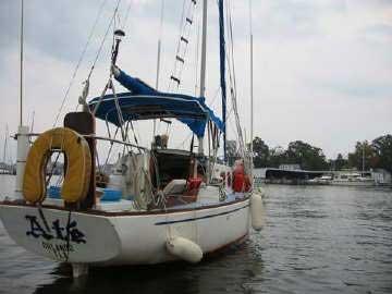 1967 Bristol 27 sailboat