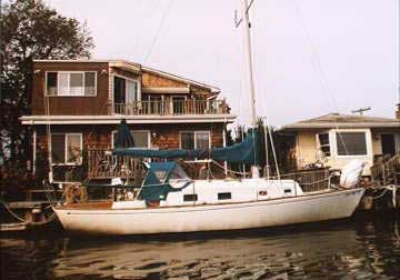 1977 Bristol 30 sailboat