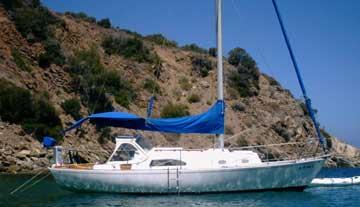 1972 Bristol 30 sailboat