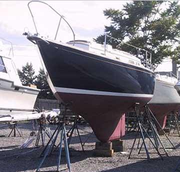 1967 Bristol 32 sailboat