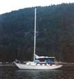 1975 Bristol 32 sailboat