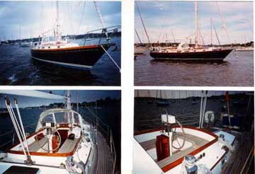 1990 Bristol 43.3 sailboat
